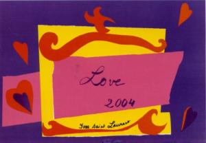 Love, by YSL